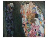 Death and Life, 1916 Reproduction d'art par Gustav Klimt