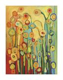 Dance of the Poppy Pods Reproduction d'art par Jennifer Lommers
