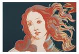 Details of Renaissance Paintings (Sandro Botticelli  Birth of Venus  1482)  1984