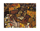 Crescent of Houses (The Small City V)  1915