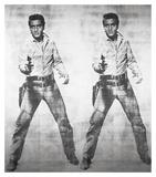 Elvis® 2 Times, 1963 Reproduction d'art par Andy Warhol