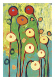Poppy Celebration Reproduction d'art par Jennifer Lommers