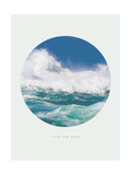 Inspirational Circle Design - Ocean Waves: Ride the Wave