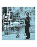 Pop art is for everyone (color square)
