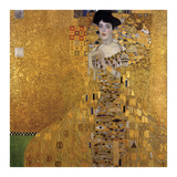 Portrait of Adele Bloch-Bauer I, 1907 Reproduction d'art par Gustav Klimt