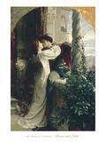 Romeo et Juliette Reproduction d'art par Sir Francis Dicksee