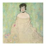 Portrait of Amalie Zuckerkandl (unfinished)  1917-1918