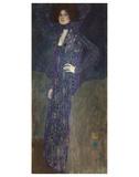 Portrait of Emilie Flöge, 1902 Reproduction d'art par Gustav Klimt