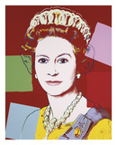 Reigning Queens: Queen Elizabeth II of the United Kingdom  1985 (dark outline)