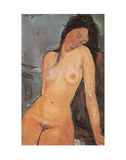 Seated Nude  ca 1917
