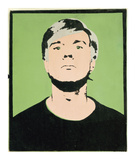 Self-Portrait  1964 (on green)