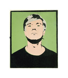 Self-Portrait, 1964 (on green) Giclée par Andy Warhol