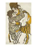 Schiele's Wife With Her Little Nephew  1915