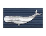 Rustic Whale Reproduction d'art par Sparx Studio