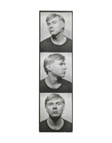 Self-Portrait  c 1964 (photobooth pictures)