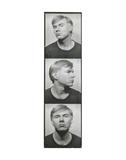Self-Portrait  c 1964 (photobooth pictures)