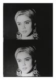 Screen Test: Edie Sedgwick, 1965 Reproduction d'art par Andy Warhol