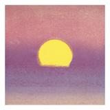 Sunset, 1972 (lavender) Reproduction d'art par Andy Warhol