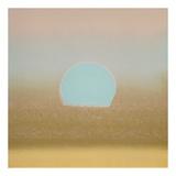 Sunset, 1972 (gold, blue) Reproduction d'art par Andy Warhol