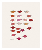 Stamped Lips  c 1959
