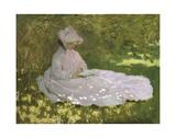 Printemps, 1872-Springtime, 1872 Reproduction d'art par Claude Monet