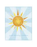 Soleil Reproduction d'art par John W. Golden