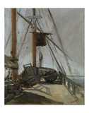 The Ship's Deck  c 1860