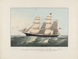 "The Clipper Ship ""Sovereign of the Seas""  1852"