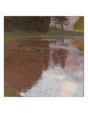 Tranquil Pond Reproduction d'art par Gustav Klimt
