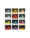 Twelve Electric Chairs, 1964/65 Reproduction d'art par Andy Warhol