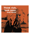 Think rich  look poor (color square)