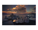 Tufas in Mono Lake  California
