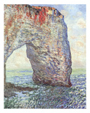 The Manneporte near Etretat  1886