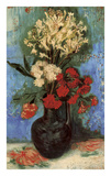 Vase with Carnations and Other Flowers  1886