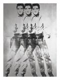 Triple Elvis®, 1963 Reproduction d'art par Andy Warhol