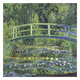 Water Lily Pond  1899 (blue)