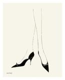 Untitled (Pair of Legs in Highheel), c. 1958 Reproduction d'art par Andy Warhol