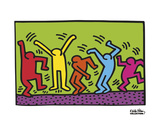Untitled, 1987 (dance) Reproduction d'art par Keith Haring