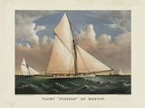 "Yacht ""Puritan"" of Boston"