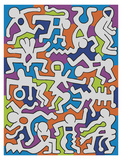 Untitled (Palladium Backdrop)  1985