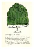 Wild Raspberries by Andy Warhol and Suzie Frankfurt, 1959 (green) Reproduction d'art par Andy Warhol