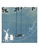 Follow Your Heart - Let's Swing Reproduction d'art par Kristiana Pärn