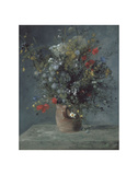 Flowers in a Vase  c 1866