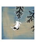 Follow Your Heart - Swinging Quietly Reproduction d'art par Kristiana Pärn