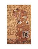 Satisfaction Reproduction d'art par Gustav Klimt