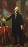 George Washington (Lansdowne Portrait)  1796