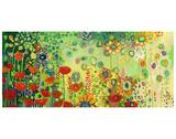 Garden Poetry Reproduction d'art par Jennifer Lommers
