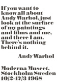 If you want to know all about Andy Warhol