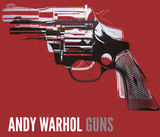 Guns  c 1981-82 (white and black on red)