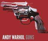 Guns  c 1981-82 (white and black on red)